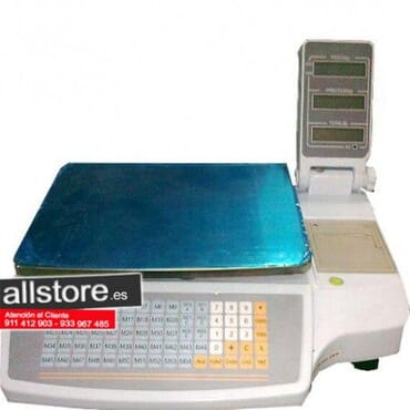Balanzas Comercial con impresora térmica