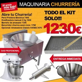 Kit Maquinaria Churrería