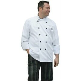 Chaqueta Executive Chef Pisa blanca Chef Works