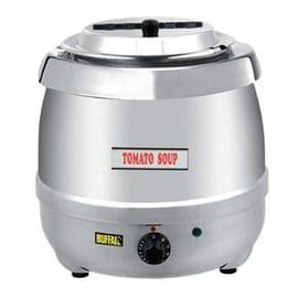 Olla calentadora acero inoxidable calor húmedo 10 litros.