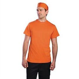 Camisetas naranja Chef Works