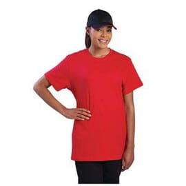 Camisetas rojo Chef Works