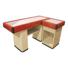 Mueble de caja 150X54X86cm rojo