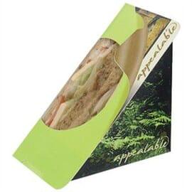 Envase auto-sellante para sándwich Fern