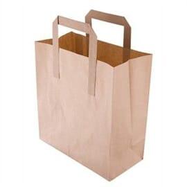 Bolsas de papel reciclado marrón Pequeñas