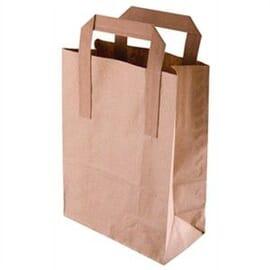 Bolsas de papel reciclado marrón Grandes