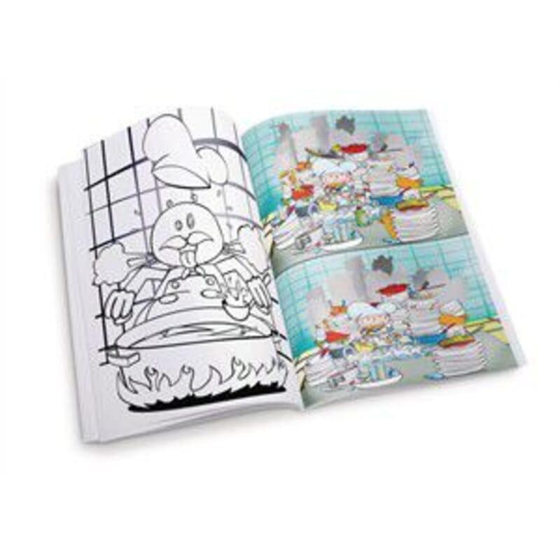 Libro Para Colorear Restaurante Global Ecommerce
