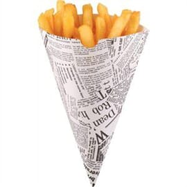 Cucurucho de papel para patatas