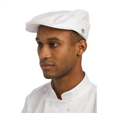 Gorra de conductor Chef Works blanca - Global Ecommerce e26ba26ecf8