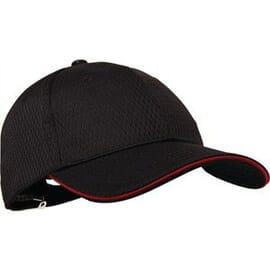 Gorra de béisbol Cool Vent roja Chef Works