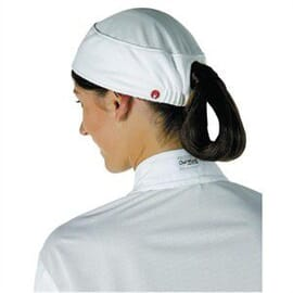Gorro Total Vent para mujer blanco Chef Works