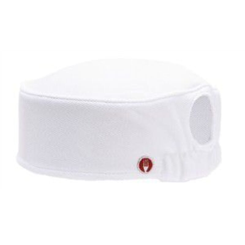 Gorro Total Vent para mujer blanco Chef Works - Global Ecommerce 9dcef26f733