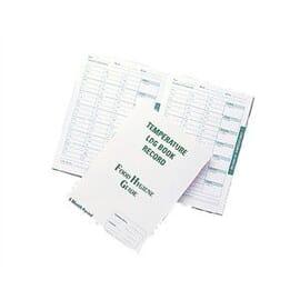Libro de registro de temperaturas Hygiplas