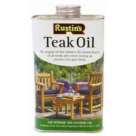 Aceite para teka Rustins