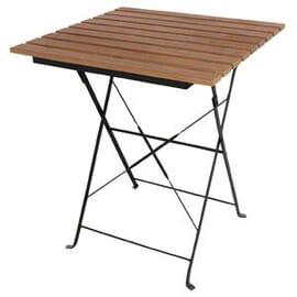 Mesa imitación madera Bolero cuadrada 600 x 600mm