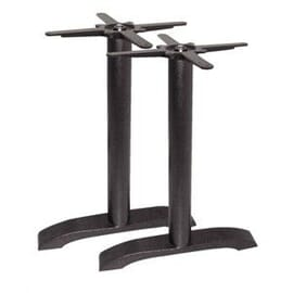 Base para patas de mesa decoradas de hierro fundido Bolero
