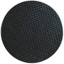 Tablero cuadrado ratán antracita 700mm Werzalit