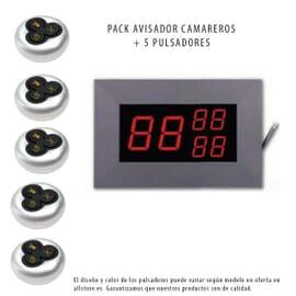 Pack monitor y cinco avisadores