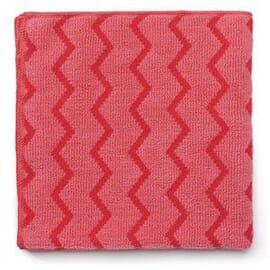 Paños de microfibra Rubbermaid Hygen - rojo