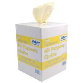 Toallas antibacterianas uso general Amarillo Jantex