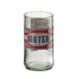 Vaso de agua de diseño retro (Caja 24)