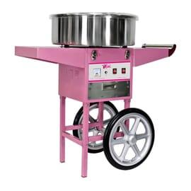 Máquina de algodón de azúcar con Carro-52 cm