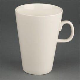 Taza mug late marfil 400ml Olympia