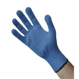 Guante resistente a los cortes azul