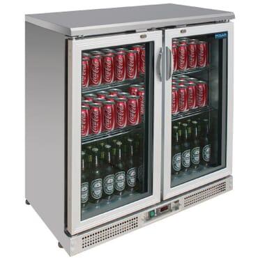 Enfriador expositor de bar 180 botellas