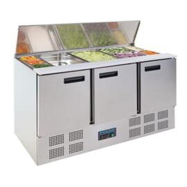 Mostrador de ensaladas refrigerado 368L