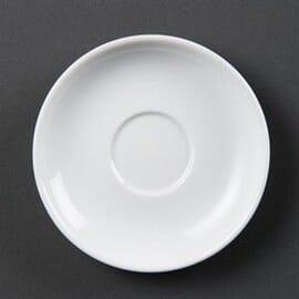 Platos de taza espresso blancos