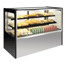 Expositor de delicatessen refrigerado 400L Polar