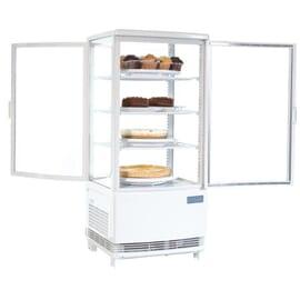 Refrigerador expositor puerta curva 86L