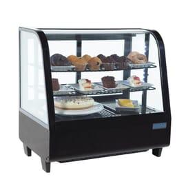 Unidad de vending refrigerada sobre mostrador 100L