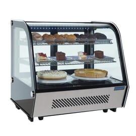 Enfriador expositor sobre mostrador refrigerado 120L