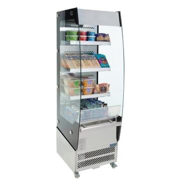 Vitrina frigorífica abierta 220L Polar
