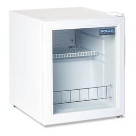 Refrigerador expositor sobre mostrador 46L