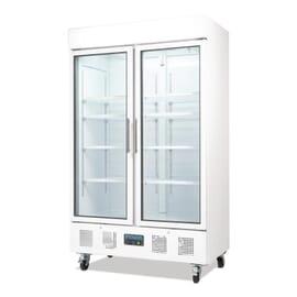 Refrigerador expositor puerta doble 944L