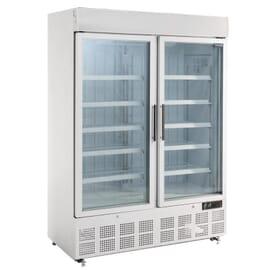 Vitrina congeladora Polar dos puertas panel iluminación exterior Dos puertas. 920 litros
