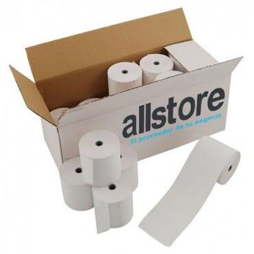 Caja 40 rollos de papel térmico 56x45 ticket
