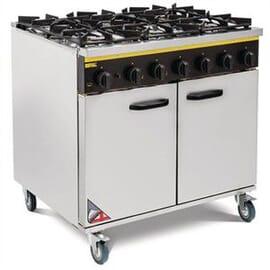Cocina de gas natural 6 quemadores Buffalo
