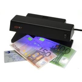 Detector de billetes falsos ultra violet