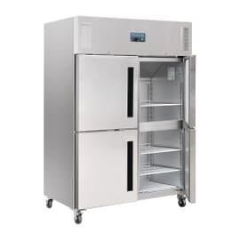 Armario frigorífico Polar GN dos puertas
