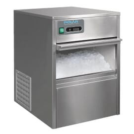 Máquina de hielo bajo mostrador 20 kg cubitos día Polar T316