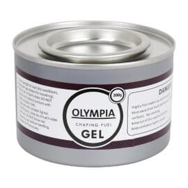 Combustible en gel para chafing dish 200g Olympia