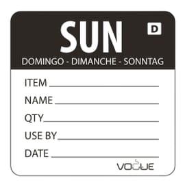 Etiquetas para productos preparados Vogue
