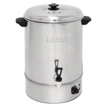 Hervidor de agua con llenado manual Buffalo 40 litros GL349