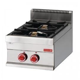 Cocina gas Gastro M 2 quemadores 65/40 PCG