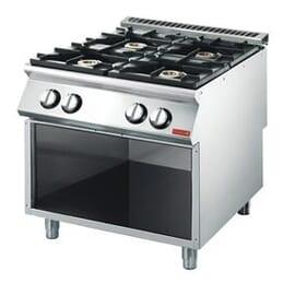 Cocina gas Gastro M 4 quemadores 70/80 PCG