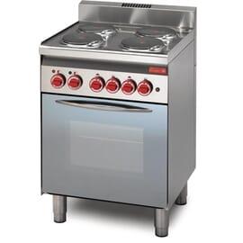 Cocina eléctrica Gastro M 4 placas 60/60 CFE